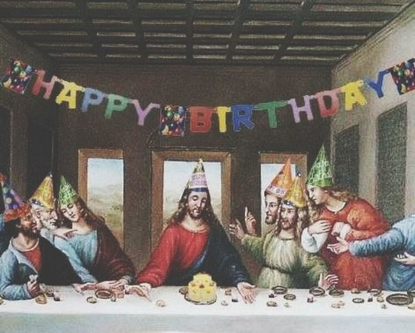 Christmas Feliz Cumpleaños Aaay Jesus