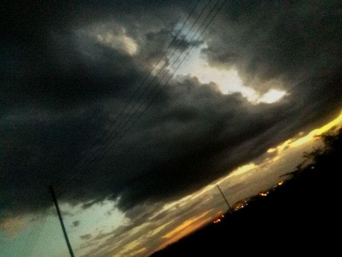 Dark skies...