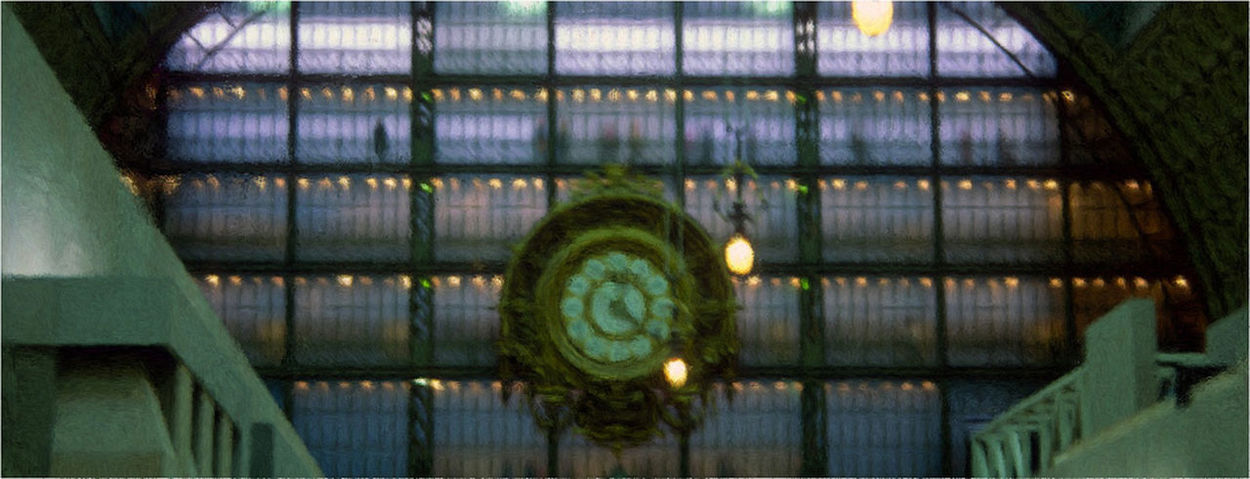Design Glass Glass - Material Indoors  Museum Orsay Paris Pattern Window