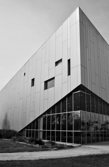 Downey CA Space Center Aerospace Industry Aerospace Space Space Exploration Space And Astronomy Educational Learn Blackandwhite Angles And Lines Angles Modern City Façade Business Sky Architecture Building Exterior Built Structure Museum Architectural Design Destinations