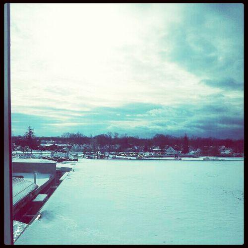 Hello World Sky Winterwonderland
