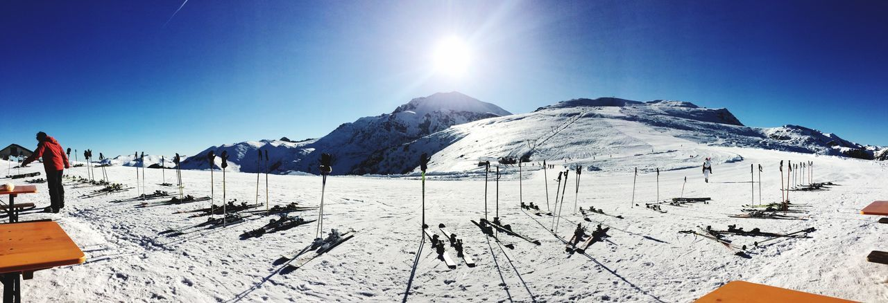 Winter Snow Cold Temperature Sunlight Beauty In Nature Scenics Tranquil Scene Nature Weather Tranquility White Color Mountain Landscape Skiing Outdoors Sun Day Ski Holiday