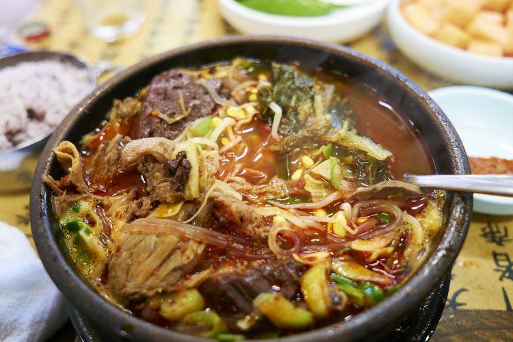 Close-up Food Food Porn Korean Food Meal Sigma19mmArt Sony A6000 Soup