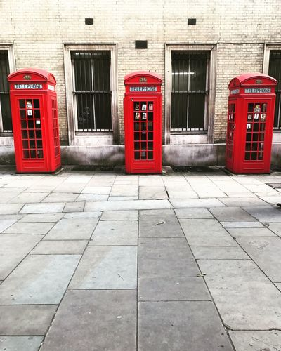 Red Telephone Box Red Telephone Booth