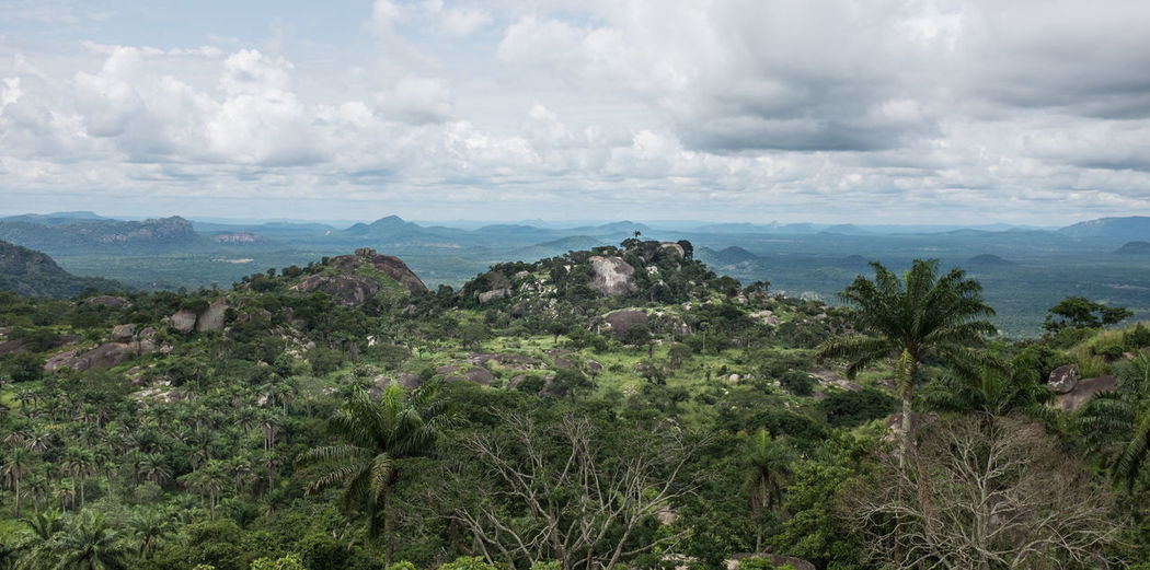 Taken a top the Ososo Rocks in Nigeria. Nigeria Ososo Ososo Rocks West Africa Africa Beauty In Nature Cloud - Sky Landscape Mountain Nature No People Scenics