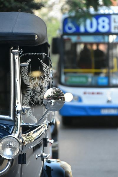Transportation Focus On Foreground Car Mode Of Transport Land Vehicle Close-up Metal Day Outdoors No People Vehicle Mirror Ford Model A Ford Street Bokeh Photography Travel Destinations Buenos Aires City Street 1930 Vehicles Nikon City Life Vintagecar Vintage Cars Ford A Transportation