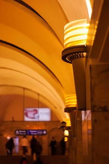 Lamp EyeEm Питер Soft Calm Metro Station Subway Public Transportation Russia, St.Petersburg EyeEmRussianTeam