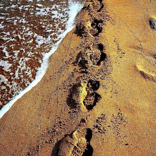 Adimlar Ayak Izi sahil Sea Footprints Tatil Holiday Tatil Beach Beach Photography Sand