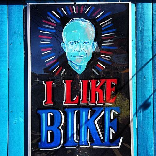 Vintage Bike Blue Bicycle Red America Classic USA White Colorful Patriotism Hipster Uptown Patriotic NOLA POTUS President 50s 1950s Redwhiteandblue Neworleans Ike Neoclassic Rr_givemeasign Jj_louisiana_041 Dwighteisenhour Ilikeike Eisenhour