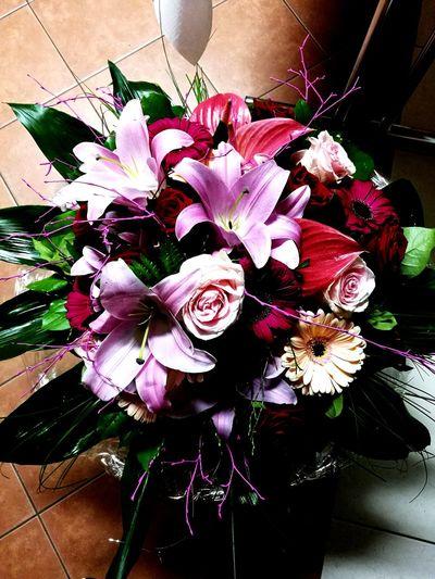 Blumen Flower Head Bouquet Florist Rose - Flower Rosé Flower Arrangement Flower Market Valentine Day - Holiday