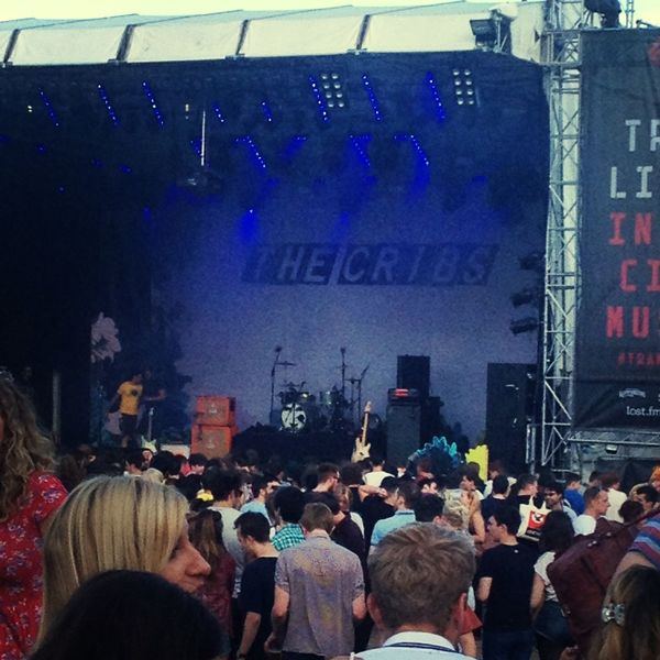 The Cribs at Tramlines Thecribs Tramlines Festival Sheffield