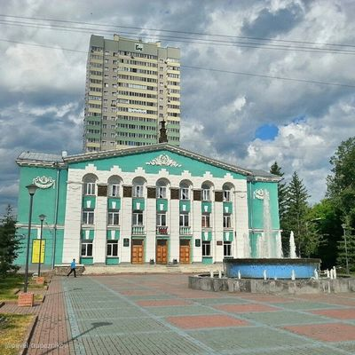 "20140705 , Новосибирск . ДворецКультуры ""энергия ""/ Novosibirsk. Palace of Culture ""Energy""."