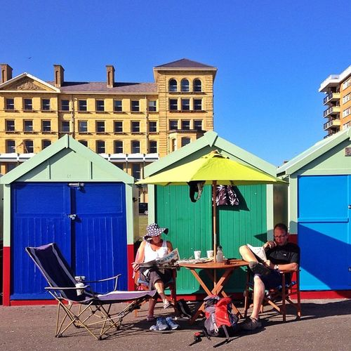 Summer relax In #Hove ☀️??? #aauk #beach_hut Alan_in_brighton Insta_brighton Gang_family Igers_brighton Hove Beach_hut Allshots_ Gf_uk Gi_uk Ig_england Aauk Ic_cities_brighton Capture_today Mashpics Top_masters From_city Pro_shooters