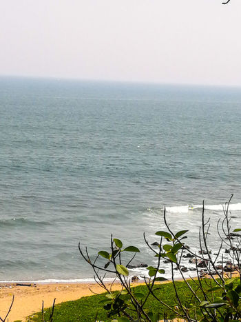 THE SEA Water Sea Day Nature Tranquility Outdoors Beauty In Nature Scenics Horizon Over Water Horizon Sky Beach