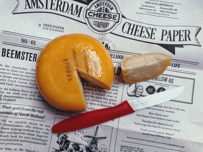 Cheese! Cheese Food And Drink Food Paper Still Life Close-up Freshness Indoors  Yellow Orange Color High Angle View Western Script Healthy Eating Dutch Favorite Yummy Delicious Love Traditional Traditional Food Eating Ready-to-eat Lifestyles Life