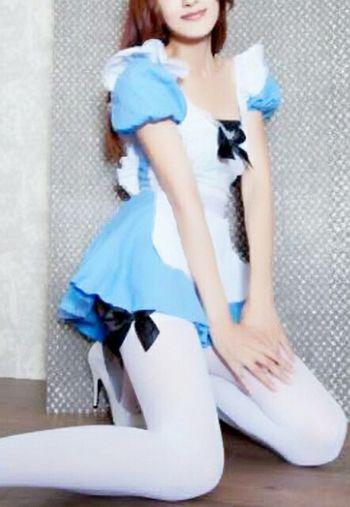 おはようございまーす 今日 は ハロウィン 楽しみですねー^ ^ 美里 コスプレ メイド Enjoying Life Japanese Girl Good Morning ミニスカ倶楽部 ミニスカ