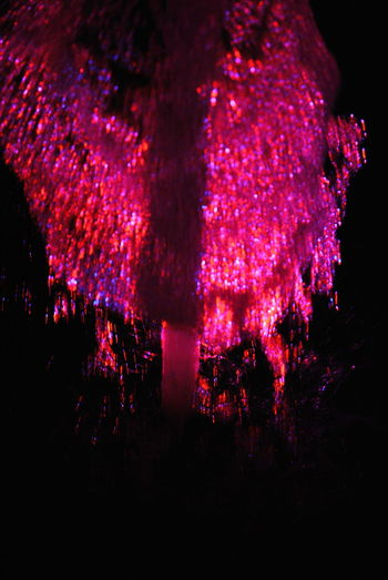 LED Water Colors Beauty In Nature Close-up Illuminated Nature Night No People Outdoors Tree Water And Lights Show Water Reflections