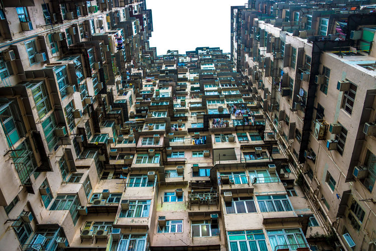 Apartment Architecture Building Building Exterior Built Structure City City Life City Life Cityscape Cityscape Cityscapes Crowded Day Full Frame High Angle View Hong Kong HongKong Modern No People Outdoors Residential Building Residential District Residential Structure Skyscraper Window