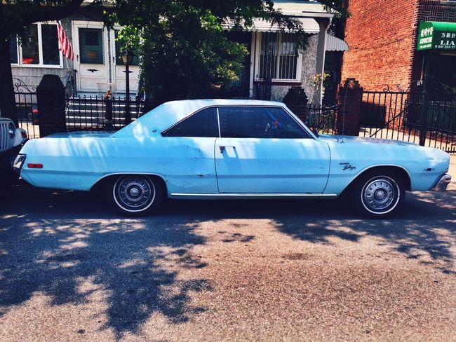 Vintage Cars Oldschool Urban Blues