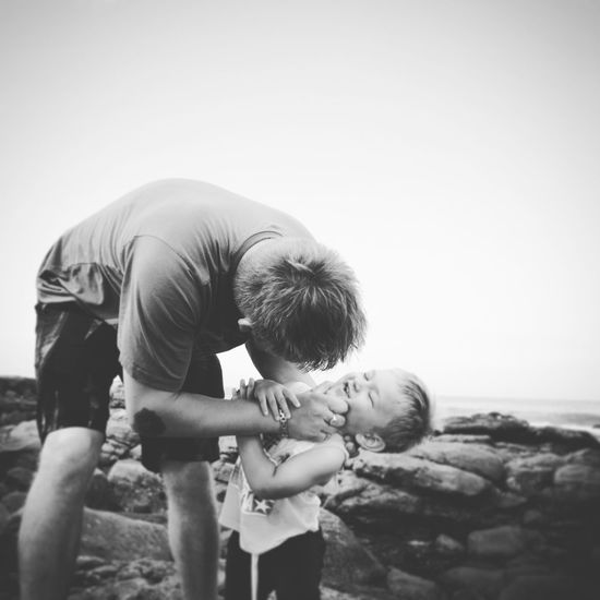 Childhood Togetherness Lifestyles Nature Outdoors Boys Fatherhood Moments Father & Son