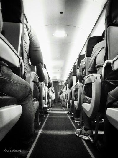 Airplane Airplane Seats Bnw Blackandwhite Black And White Collection  Blackandwhitephotography Monochrome On The Move
