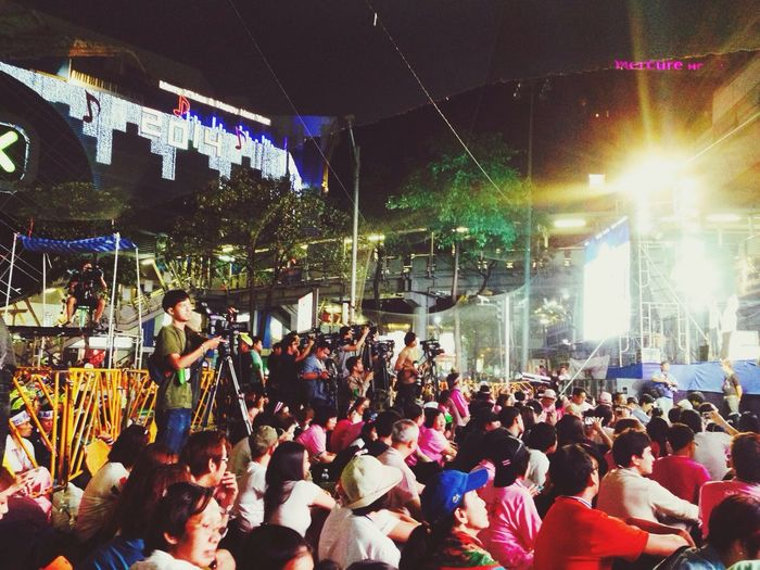 Thaiuprising Shutdown Bangkok กปปส บระเจ้า!..วันนี้ริงไซด์เค้าคนแน่นมากกกกกก!