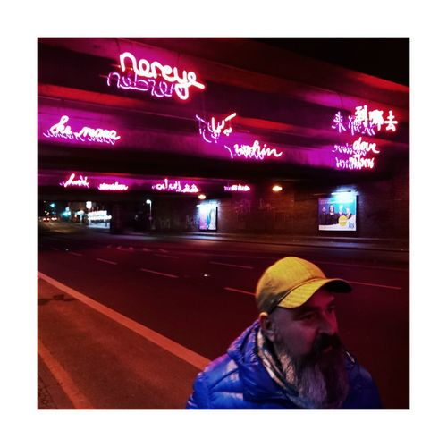One Person One Man Only Night People Real People Outdoors Neon Where To Go? Bochum Streetphotography Street Photography Street Urban Night Lights Lights Lonley Taking Photos Stuttgartmobilephotographers Mobilephotography Color Photography Color BYOPaper! Urbanphotography City City Life