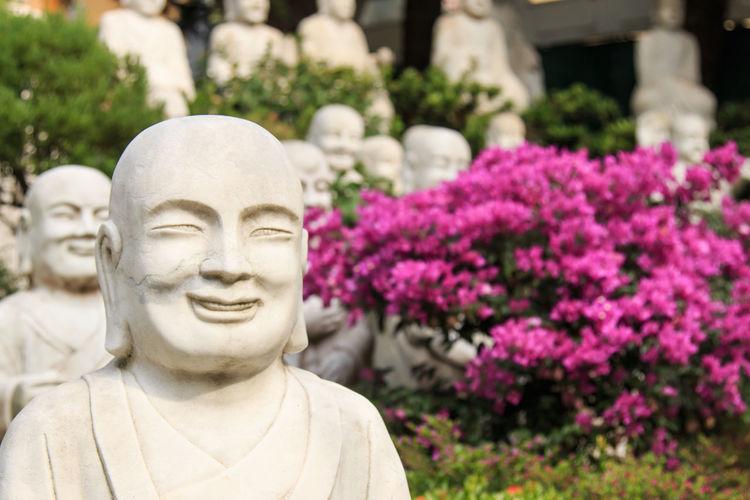 Close-Up Of Buddha Statue At Fo Guang Shan