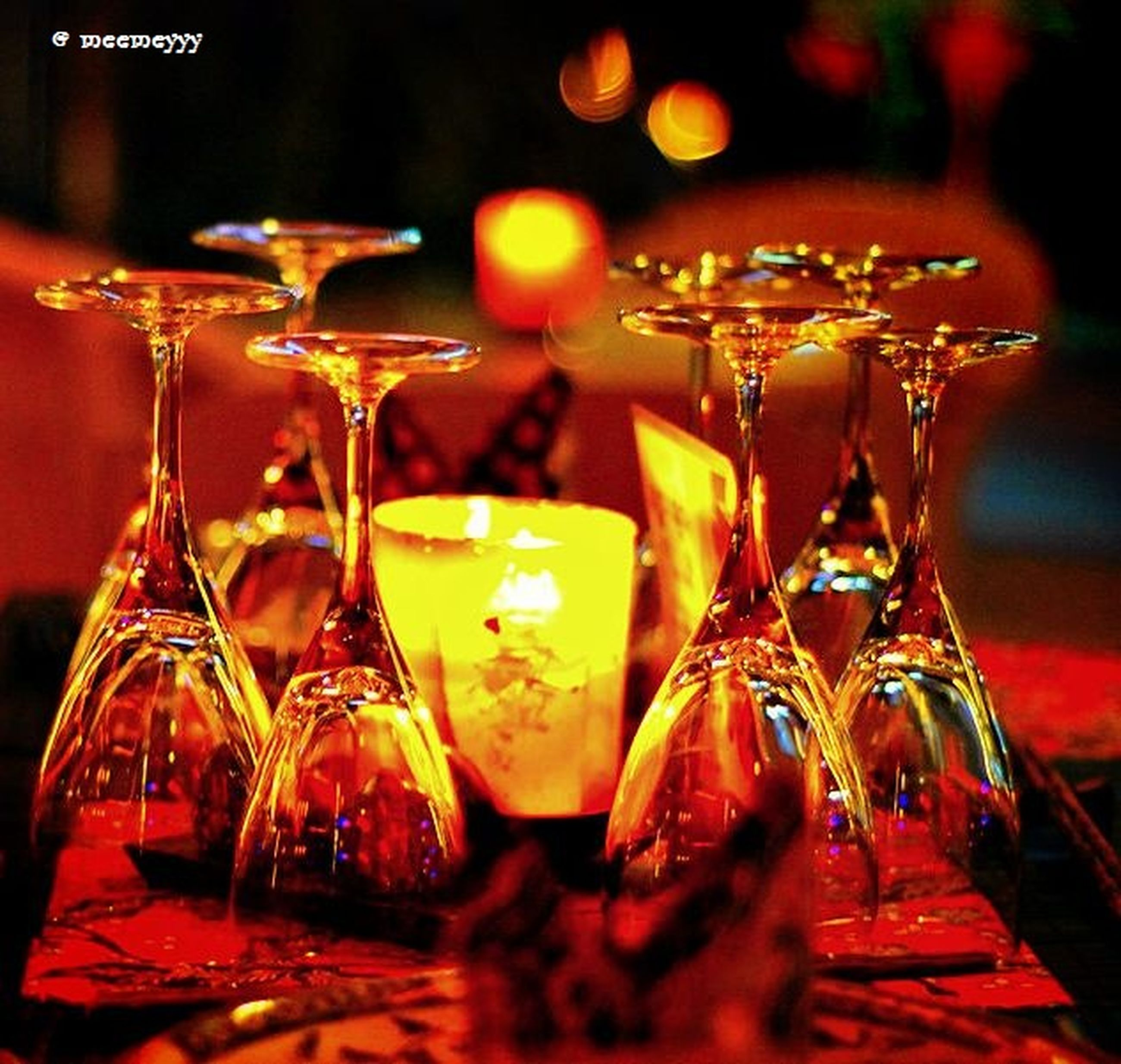 illuminated, indoors, celebration, night, decoration, tradition, focus on foreground, christmas, cultures, table, selective focus, religion, still life, christmas decoration, close-up, red, hanging, lighting equipment, celebration event, christmas lights