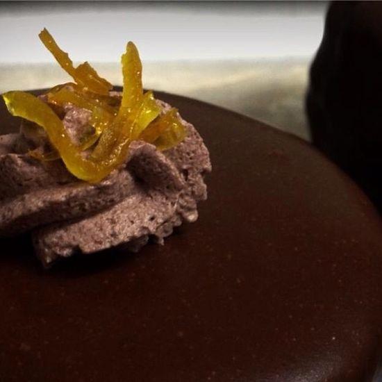 Chef InstaChef Pastrychef Chocolate orange foodart foodpics foodporn cuisine_captures dessert dessertoftheday sacher