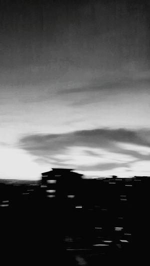 #blackandwhite #bnwmood #sky Sky Cloud - Sky Landscape Dramatic Sky Moody Sky Lightning First Eyeem Photo