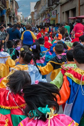 Bolivia Carnival Carnival Crowds and Details Celebration Children Cochabamba Fun Joyful Kids Kids Playing Childhood Costume Costumes Culture Cultures Day Dressing Fun Times Joy Kids Having Fun Large Group Of People Outdoors Party People