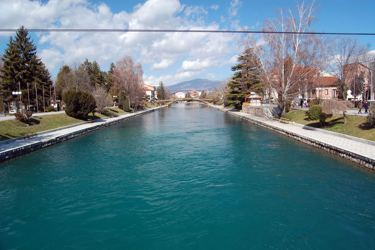 drim river, struga macedonia Blue Day Drim River Drimagez Lake Ohrid Landscape Macedonia Nature No People Outdoors River Drim Sky Struga Summer Swimming Pool Tourism Travel Travel Destinations Tree Vacations Water
