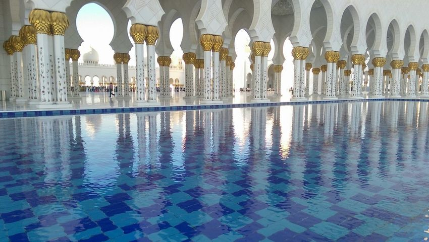 Day trip to the Grand Mosque , Abu Dhabi No Edits