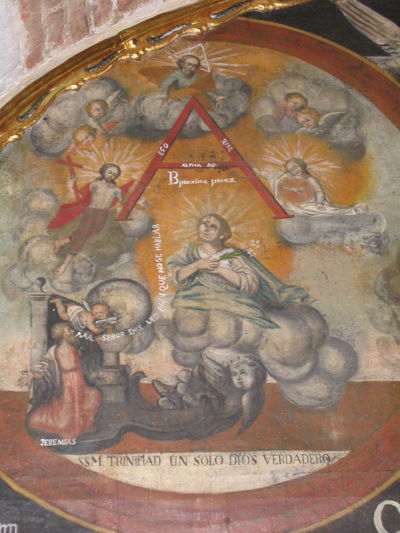 Arequipa Arequipa - Peru Astrology Sign Astronomical Clock Close-up Day Fresco History Indoors  Monastary Monasterio De Santa Catalina No People Representing