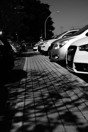 Welcome To Black Shadow Car Black And White Photography Sequence Parking Area Behind The Lines The Week On EyeEm