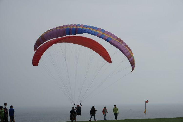 Paragliding in Miraflores Coastline Ocean View Paragliding Go Higher Nature Ocean Outdoors