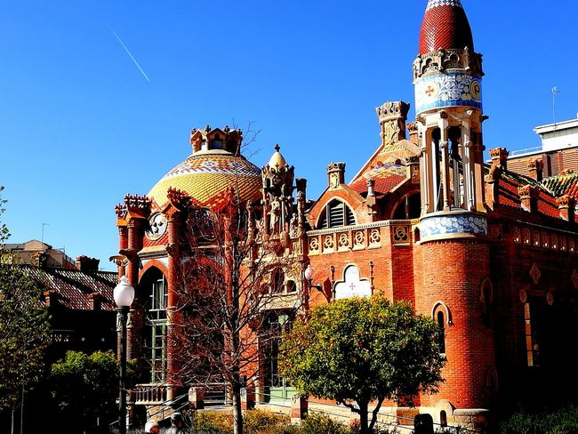 Hospital Sant Pau Barcelona Sky Outdoors No People Travel Destinations Day Architecture King - Royal Person Barcelona Architecture Barrio Colorful Cloud - Sky Hospital Santpau