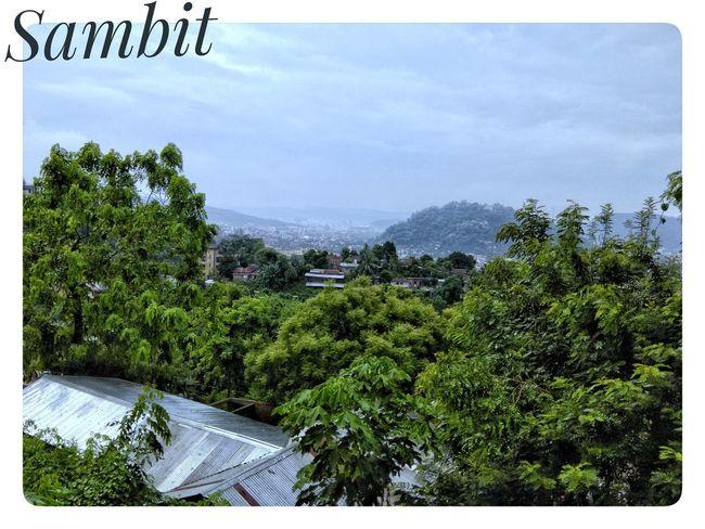Enjoying the Nature Of Guwahati...