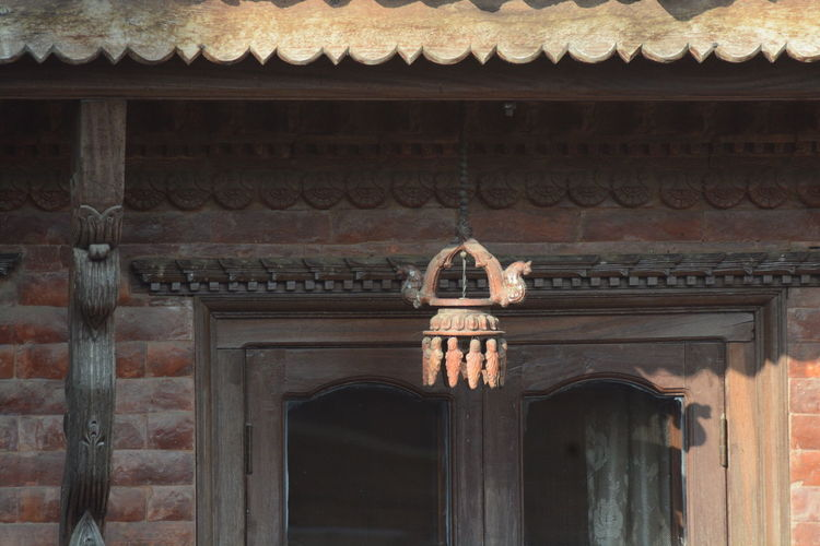Nepali Home Arch Architecture Building Exterior Built Structure Day History Nepali Culture Nepali Lamp No People Outdoors Traditional Home