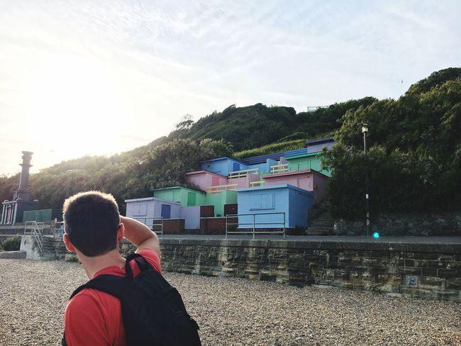 Pastel Power Beachphotography Beach Huts Exploring New Ground