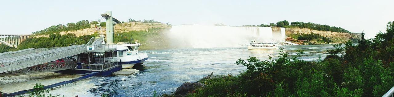 Canada Niagara Falls Waterfall Niagra Falls Ontario  Love Waterfalls Boat Niagara Falls NY Niagara