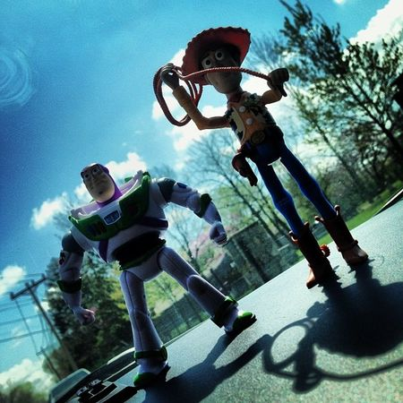 To infinity and beyond. Toystory Buzz Woody Pixar  disney