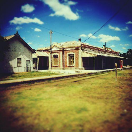 En La Estacion De Trenes