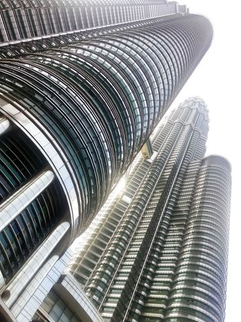 Petronas Twin Towers Malaysia Twin Towers Architecture Skyscraper City Building Exterior Low Angle View klcc Suria KLCC Built Structure Modern No People Metallic