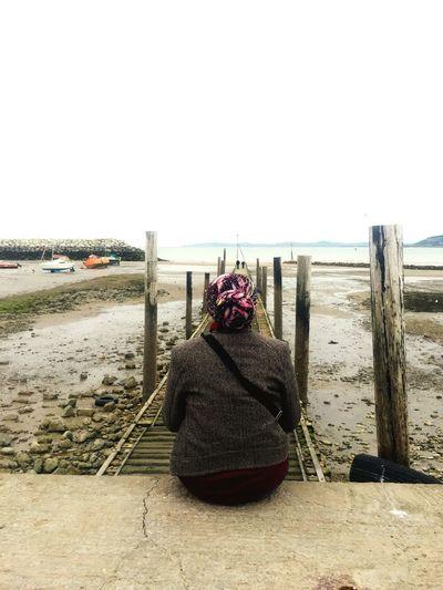 Tranquil scene of beach