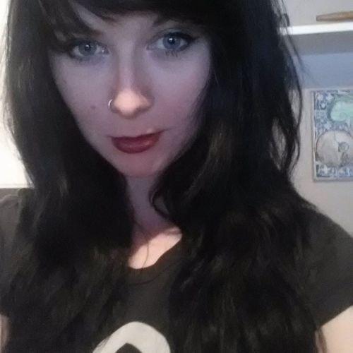 Soo I went and dyed my hair black. Blackhair Selfie Selfiesfordays