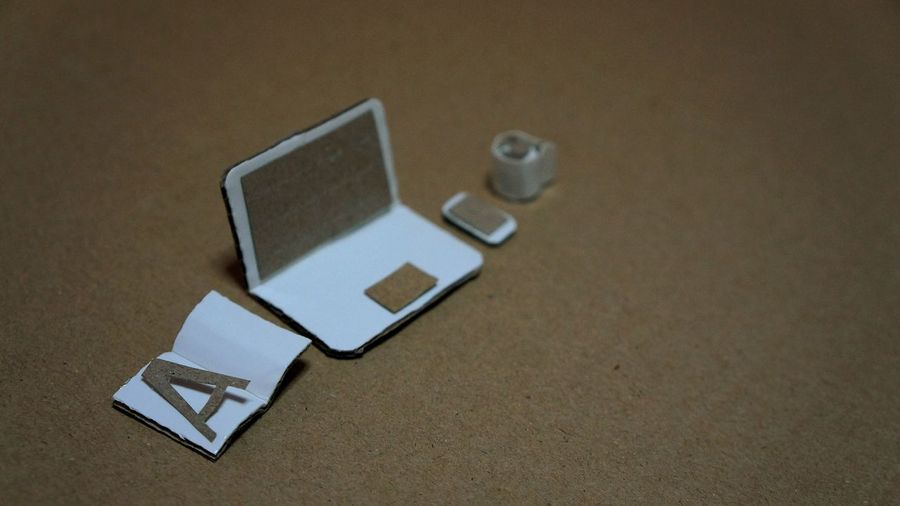 Paper wonders.. Desks From Above Getting Inspired Getting Creative Things Organized Neatly Box Art Handmade Mini Minimalism Open Edit Taking Photos Laptop Coffee Smartphone Book The Still Life Photographer - 2018 EyeEm Awards