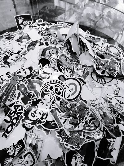 stickers Stickerart Pattern Backgrounds Close-up Street Art