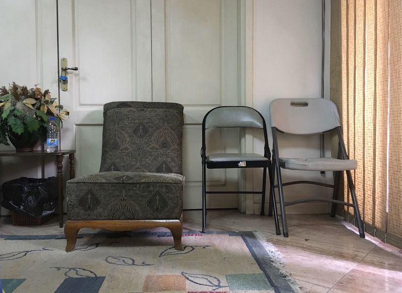 EyeEm Diversity Cairo Egypt Indoors  Chairs No People Furniture Seat Day Absence Home Interior Living Room Carpet égypte